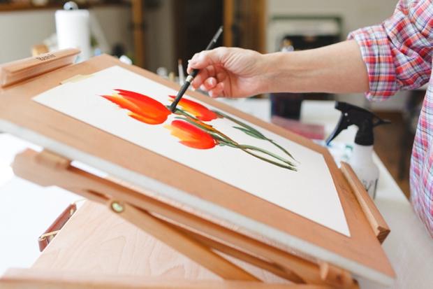 Theda Hewuse Watercolor Studio_Wausau Wisconsin