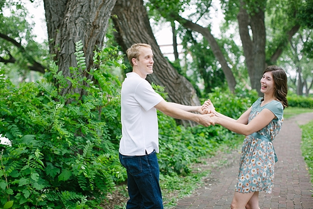 Emily & Nate | St. Anthony Main | Engagement Photography